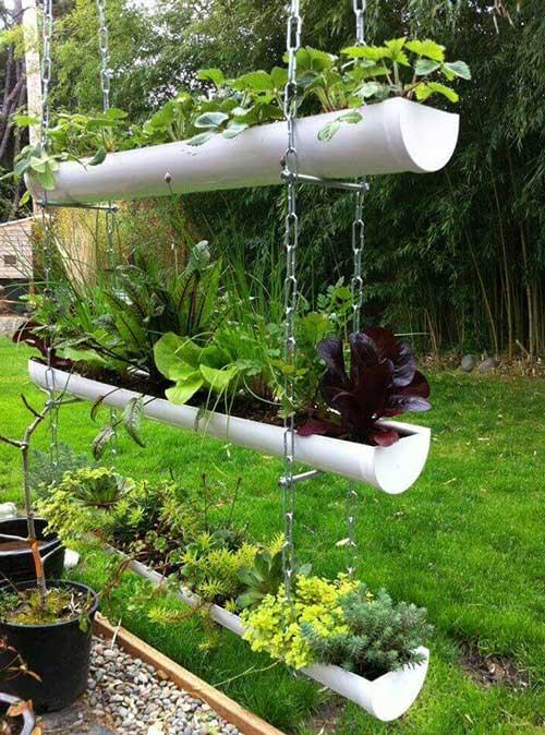 Como fazer uma horta suspensa